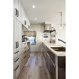 住友不動産の新築そっくりさんのキッチン・システムキッチンのリフォーム実例