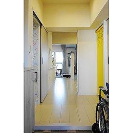 土屋ホームトピアの玄関のリフォーム実例