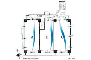 サンメゾン浜松元浜の建物の特徴画像