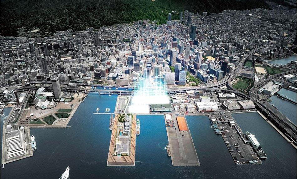 ベイシティタワーズ神戸の建物の特徴画像