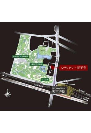 シティタワー天王寺の周辺環境の特徴画像