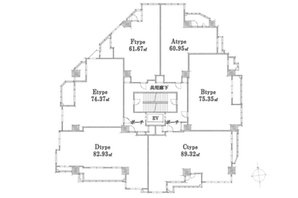 ウェルグラン姪浜マリナヒルズの建物の特徴画像