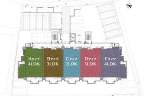 ランドアーク天満の建物の特徴画像