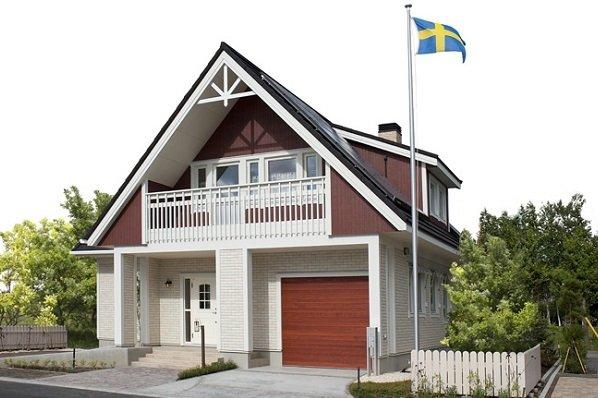 スウェーデンハウス 森林公園駅前モデルハウス1