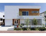 アイデザインホーム マリーナ展示場 スキップフロアで2階建てなのに5層構造を実現