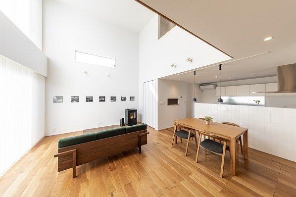 【宇都宮市ゆいの杜】Karino/〈二面(フタオモ)の家〉 「建築家の設計」の魅力を体感3