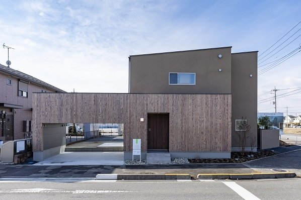【宇都宮市ゆいの杜】Karino/〈二面(フタオモ)の家〉 「建築家の設計」の魅力を体感4