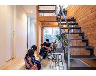 【国分寺モデルハウス/27.5坪・2LDK】都市部でも開放的な暮らしが叶う『通り庭の家』。随時内見OKの見どころ2