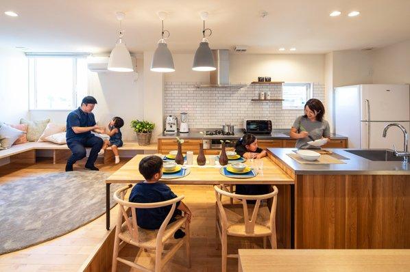 【国分寺モデルハウス/27.5坪・2LDK】都市部でも開放的な暮らしが叶う『通り庭の家』。随時内見OK1