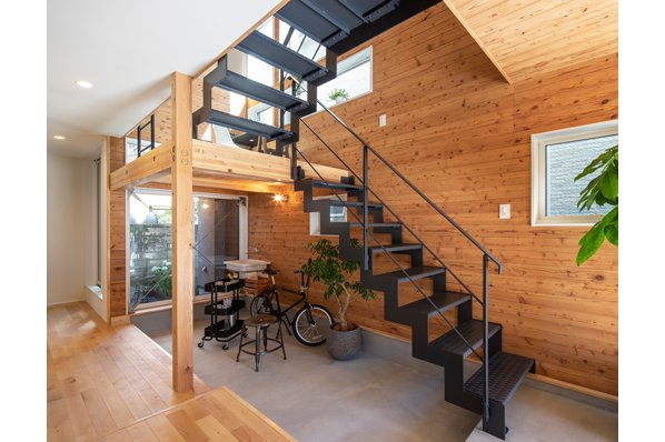 【国分寺モデルハウス/27.5坪・2LDK】都市部でも開放的な暮らしが叶う『通り庭の家』。随時内見OK6