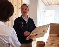 木と漆喰 十津川の家 高槻住宅展示場の見どころ2