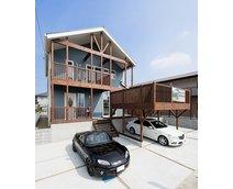 【要予約】本格派の雰囲気を存分に堪能! カリフォルニアスタイルが好評の「住まいPLAZA茂原モデルハウス」