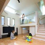 広島建設-セナリオハウス-の住宅実例1