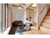 木と漆喰 十津川の家 高槻住宅展示場 の住宅実例