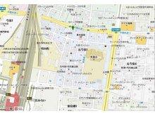 店舗の周辺地図です。