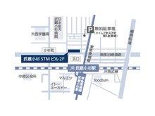 武蔵小杉駅より徒歩2分!お車でお越しの際はお近くの無料駐車場をご利用下さい。