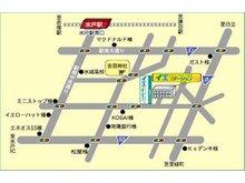 イエステーション水戸南店「有限会社ランドワークス」へご来店の際は、こちらをご確認ください。お車でのご来店でも、広々とした駐車場がございますので、ゆっくりご駐車頂けます。