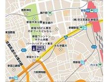 「新宿」駅南口より徒歩約15分「初台」駅より徒歩約6分「都庁前」駅より徒歩 約10分