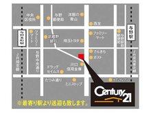 JR埼京線「与野本町」駅と、JR京浜東北線「与野」駅の2沿線2駅利用可能♪電車でお越しいただいた際は、駅までお迎えに上がることも可能です!店舗の前面が駐車場なので、お車でもお気軽にお越しくださいませ!