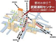 JR埼京線・武蔵野線「武蔵浦和」駅 徒歩2分