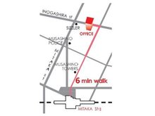 JR中央線「三鷹」駅 北口から徒歩6分