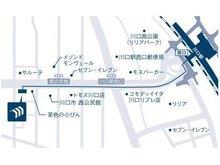 JR京浜東北線 歩6分 川口駅西口からメイン通りを直進左側