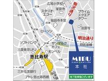 恵比寿店 店舗地図