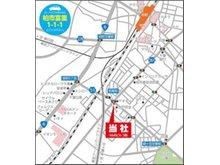 ◇千葉県柏市富里1-1-1 ◇JR常磐線「柏」駅南口から徒歩約10分、ヤオコー柏若葉町店さんの向かい♪ ◇柏駅までお迎えに上がります♪