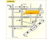 東邦商事株式会社は、JR長野駅善光寺口から中央通りを善光寺方面へ、徒歩約6分です。中央通り沿い、青い看板が目印です。
