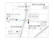 長野電鉄長野線「市役所前」駅から徒歩1分に位置します。