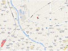 金沢駅より1500m、乙丸陸橋より450mの所にあります。