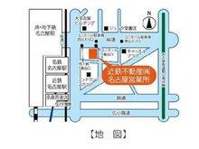 名古屋駅徒歩3分!! ユニモール3番出口から20mの第三堀内ビルディング12階にあります!!