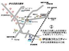 弊社は伊豆急行線伊豆高原駅「桜並木口前」で営業しております。