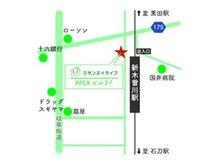 名鉄名古屋本線「新木曽川」駅徒歩1分です。お車にてご来店の際は、近隣のコインパーキングをご利用ください。