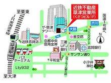 店舗地図(駐車場はコインパーキングをご利用下さい。駐車券をご持参頂ければ店舗で精算致します)