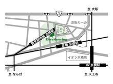 各線「京橋」駅から徒歩3分♪近隣に駐車場もありますのでお気軽にご来店ください。