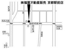 京都駅前店の地図