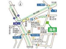 ■弊社 地図■ お客様駐車場8台完備しています♪
