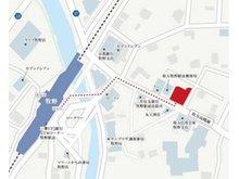 会社案内図京阪本線牧野駅から徒歩2分