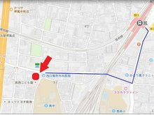 JR阪和線「鳳駅」 西へ徒歩約8分です。駐車場もご用意させていただいております。