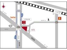 国道25号線と内環状線が交わる交差点にございます♪平野駅から徒歩5分!