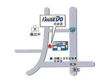 お客様駐車場あり!桑江中学校すぐ近くです!車での送迎もお気軽にお電話ください。
