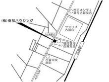 JR古賀駅から徒歩3分!お車で来られる方は国道495号線沿い古賀駅前交差点のそばにあります。また、九州自動車道古賀インター出入口から約1.8kmとなります。もちろん駐車場複数台駐車可です!