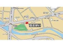 ■県道篠栗線沿い、星乃珈琲二又瀬店様の、隣の隣です。■駐車場5台完備。■「住むばい」の茶色い木目の看板が目印です。