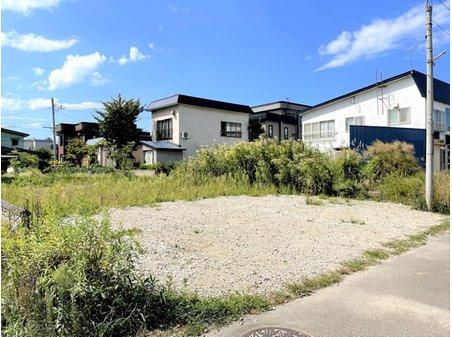 旭町2(青森駅) 580万円 現地撮影(2021年9月) 南側から見た現地の様子