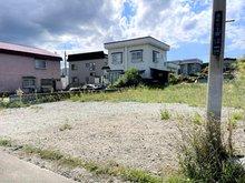 旭町2(青森駅) 580万円 現地撮影(2021年9月) 北東側から見た現地の様子