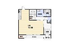 鷺ノ森2(東根駅) 2500万円 2500万円、3LDK、土地面積220.47㎡、建物面積113.04㎡1階