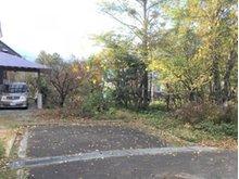 松尾寄木第1地割 250万円 南側の一部道路部分。東側幅員7mの道路に12.5m接道