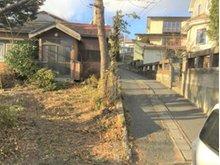 大字新井田字林ノ上(陸奥湊駅) 480万円 東側の私道路の様子です。