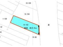 【事業用物件】比子字白木 550万円 550万円、3K、土地面積339㎡、建物面積314.16㎡